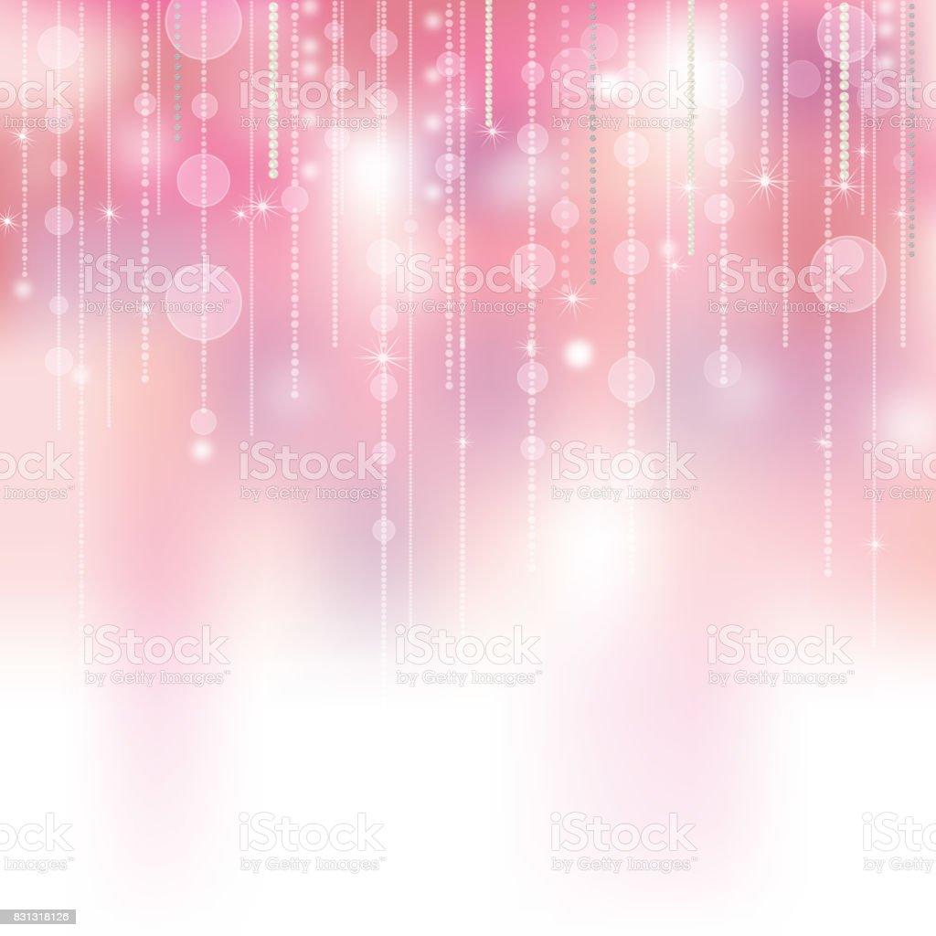 background of illumination and jewelry vector art illustration