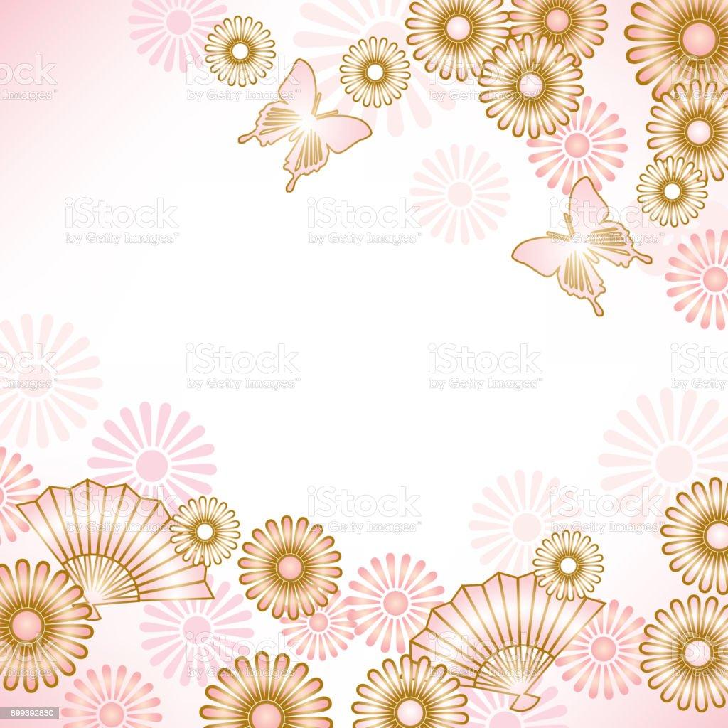 和風の背景 - うちわのベクターアート素材や画像を多数ご用意 899392830