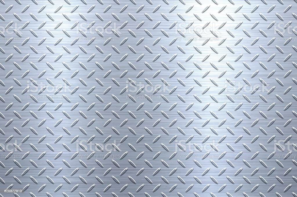 Background of Metal Diamond Plate in Silver Color background of metal diamond plate in silver color - arte vetorial de stock e mais imagens de alumínio royalty-free