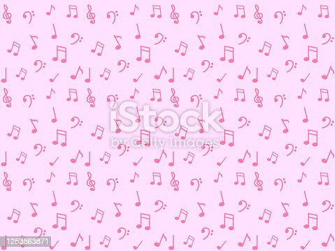 istock Background of notes 1253863871