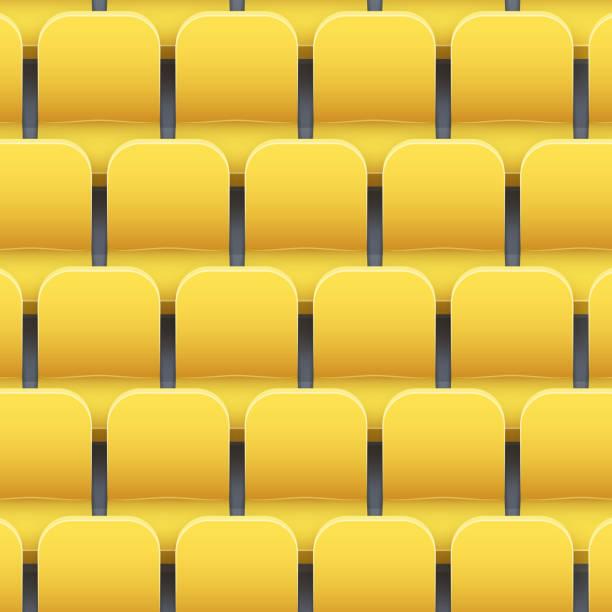 bildbanksillustrationer, clip art samt tecknat material och ikoner med bakgrund av plast stadion platser - sittplats