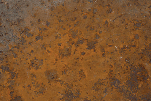 Background of rusted metal.Vector illustration.