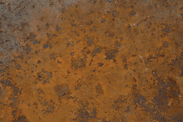 Background of rusted metal Background of rusted metal.Vector illustration. rusty stock illustrations