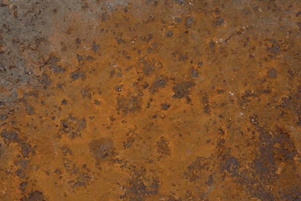 stockillustraties, clipart, cartoons en iconen met background of rusted metal - roestig