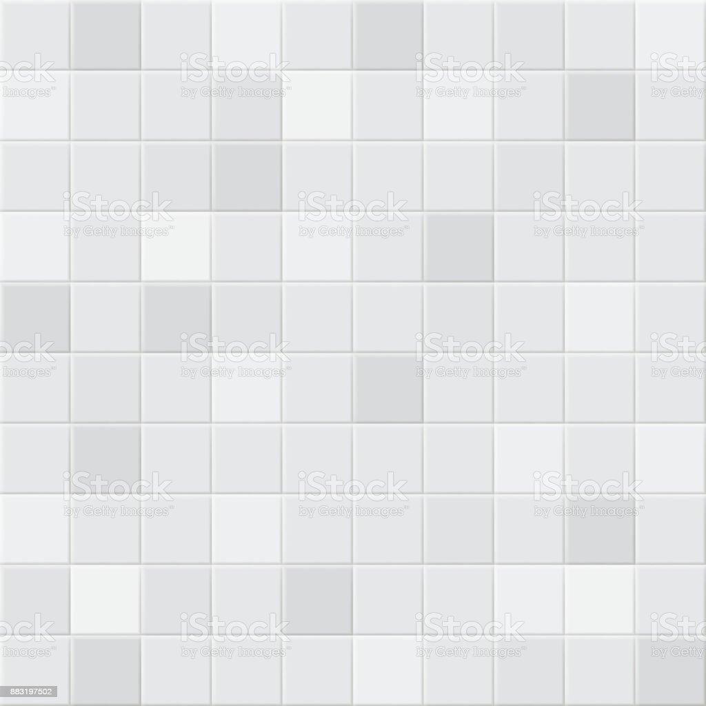 Background of tiles vector art illustration