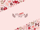 Background of Valentine's Day