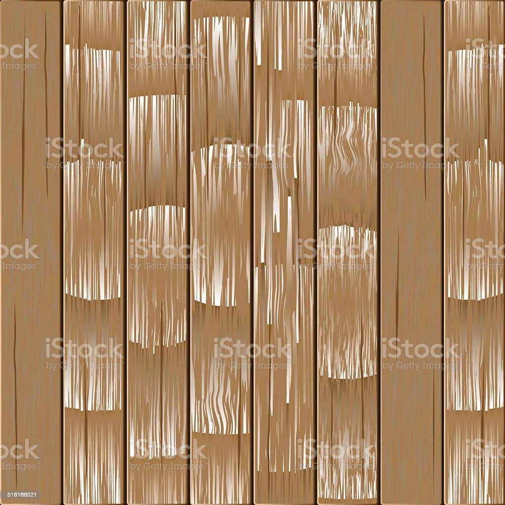 Background Of Wooden Vertical Boards Stock Illustration