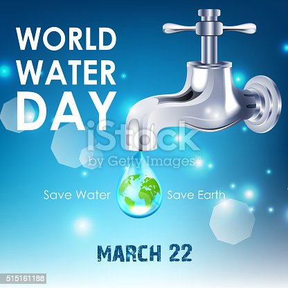 istock Background of World Water Day 515161188