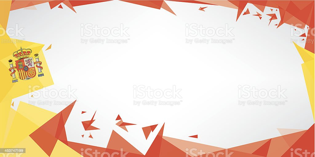 background origami of Spain royalty-free background origami of spain stock vector art & more images of backgrounds