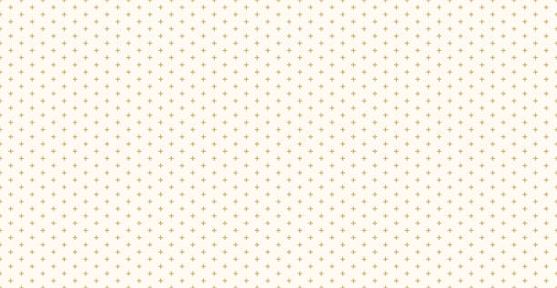background pattern seamless design gold color cross or plus sign abstract vector. - gold texture stock illustrations