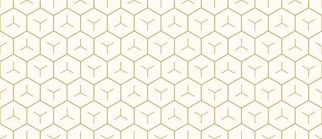 Background pattern seamless geometric abstract gold luxury color and line. Geometric line vector.