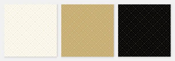 stockillustraties, clipart, cartoons en iconen met achtergrond patroon naadloze geometrische abstract goud luxe kleur vector. - thailand