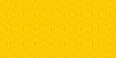 Background pattern seamless geometric abstract orange and yellow colors vector. Summer background design.