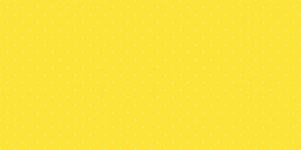 bildbanksillustrationer, clip art samt tecknat material och ikoner med bakgrunds mönster sömlös geometriska plus tecken abstrakt gul färg vektor. sommar bakgrund design. - gul bakgrund