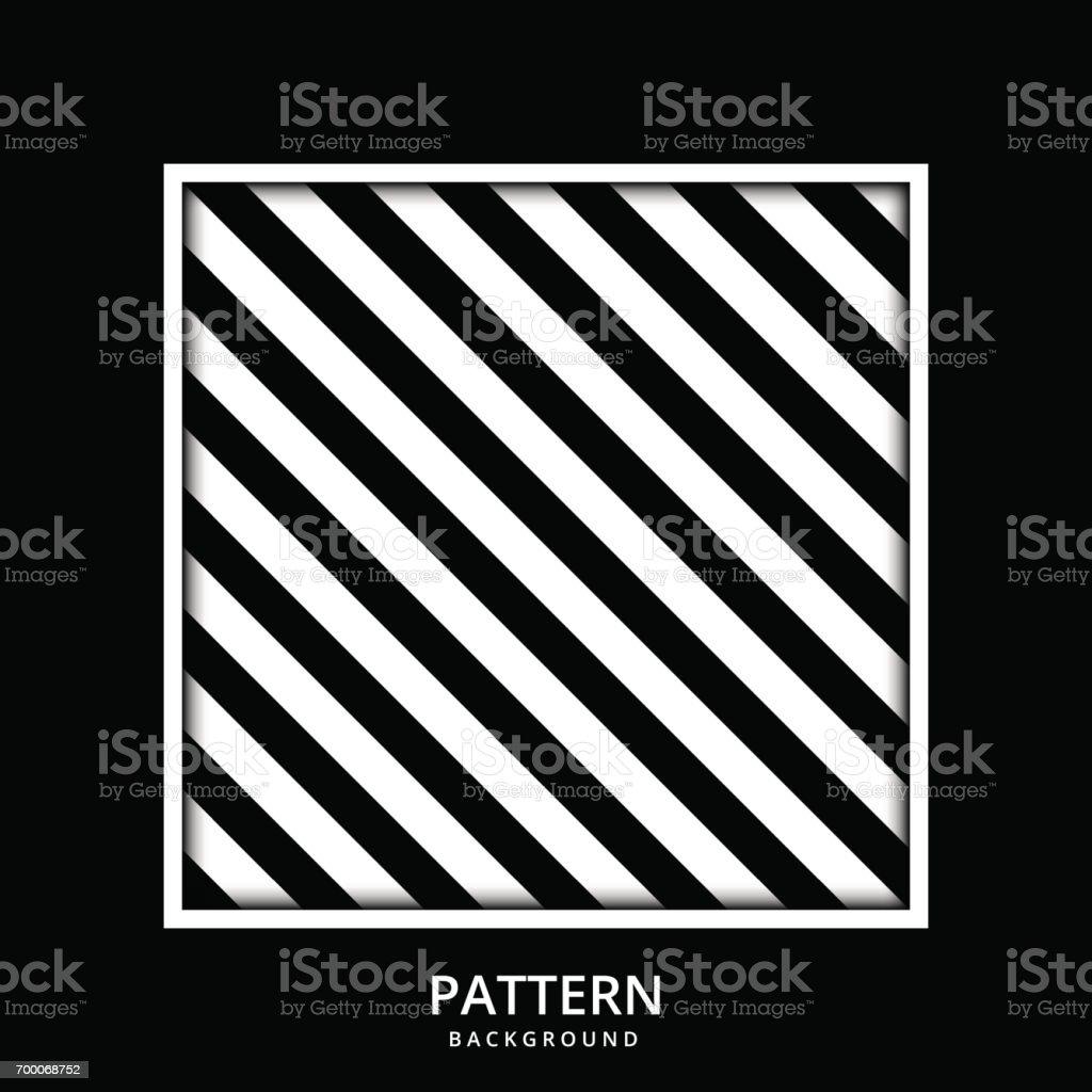 Vetores De Padrao Da Listra Preto E Branco Sem Costura Vetor Cores