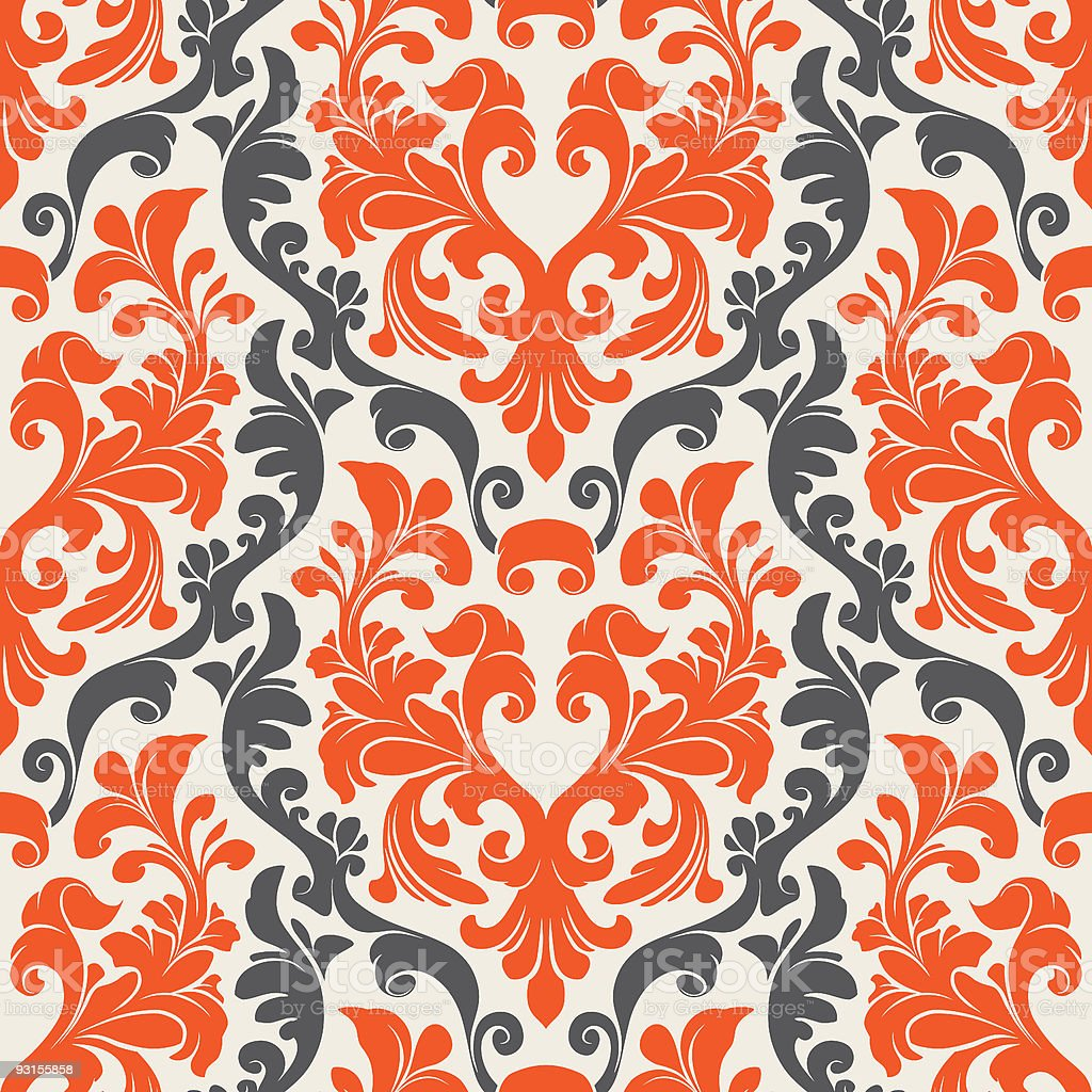 Background pattern tapestry vintage royalty-free stock vector art