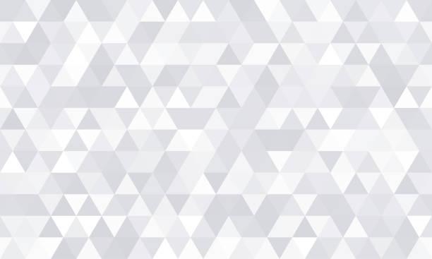 Background pattern, white geometric abstract polygon shape. Vector modern gray minimal mosaic tile, triangular diamond line, backdrop flat background design Background pattern, white geometric abstract polygon shape. Vector modern gray minimal mosaic tile, triangular diamond line, backdrop flat background design triangle shape stock illustrations