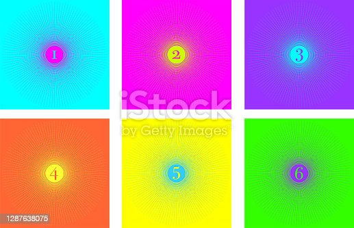 istock background rays color 1, 2 ,3, 4, 5, 6 1287638075