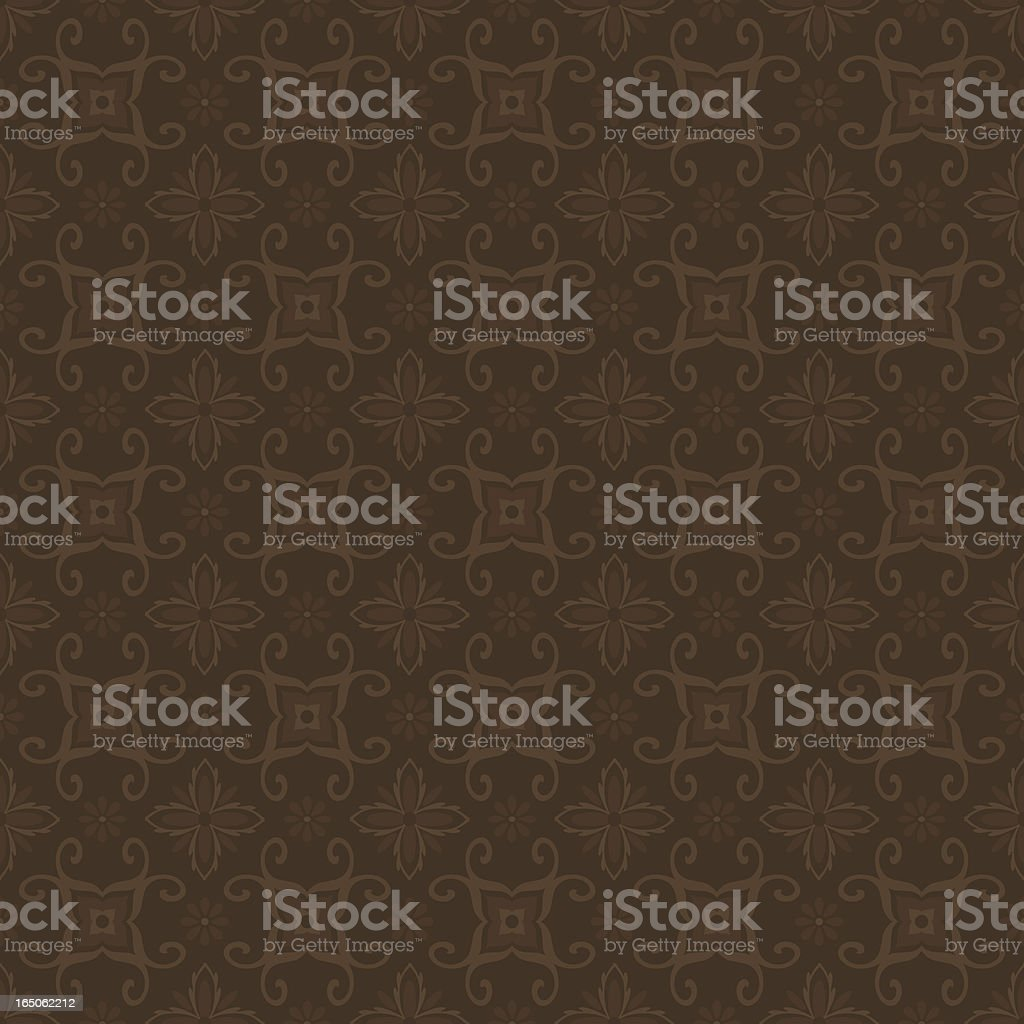 Background - Rich Brown (Seamless) royalty-free stock vector art