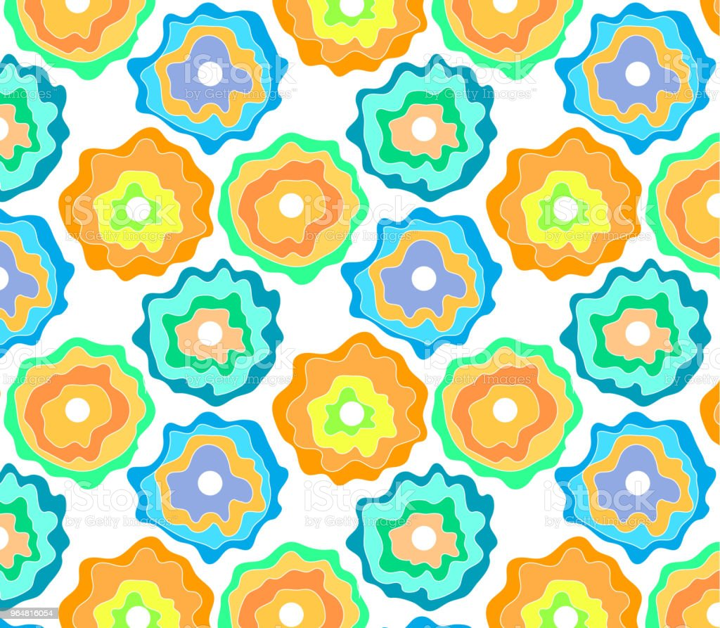 background Seamless pattern Abstract flowers royalty-free background seamless pattern abstract flowers stock vector art & more images of abstract