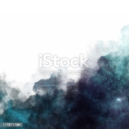 Vector illustration of a highly detailed abstract space illustration. Ideal for design projects, galaxy and space ideas and concepts and as a background for all kinds of internet designs.