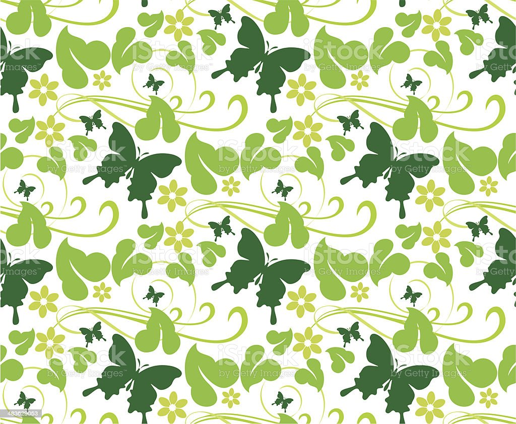 f7b1289fccc Background Spring Floral Seamless Pattern Wallpaper Stock Vector Art