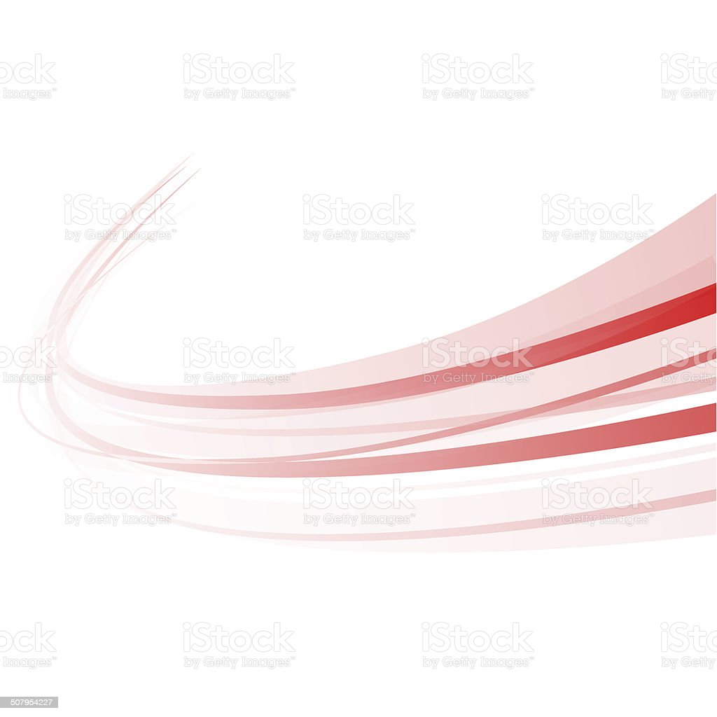 Background swirl red vector art illustration