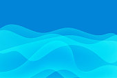 Vector illustration of an abstract background with a transparent and fluid design. Ideal for design projects, web pages and technology and business backgrounds.