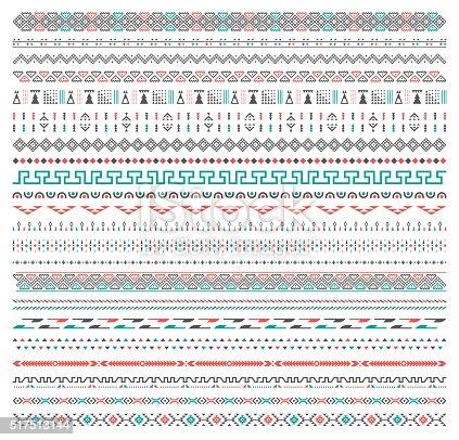 istock Background Tribal Pattern 517513144