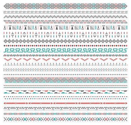 Background Tribal Pattern