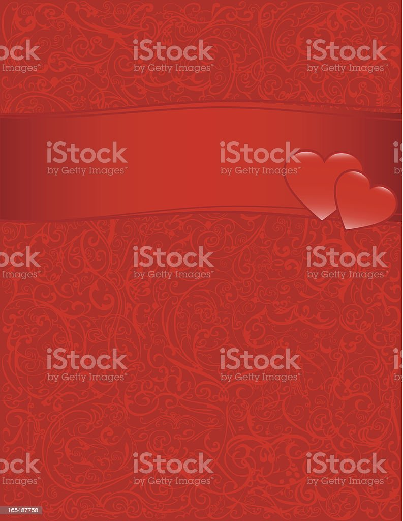 Background - Valentine royalty-free stock vector art