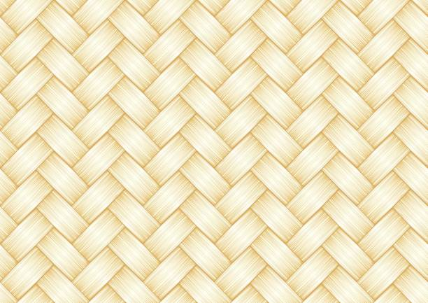 background Straw background. Seamless pattern. wicker stock illustrations