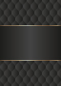 black background with decorative pattern