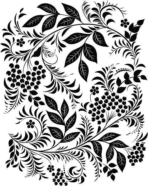 background - floral and decorative background stock illustrations