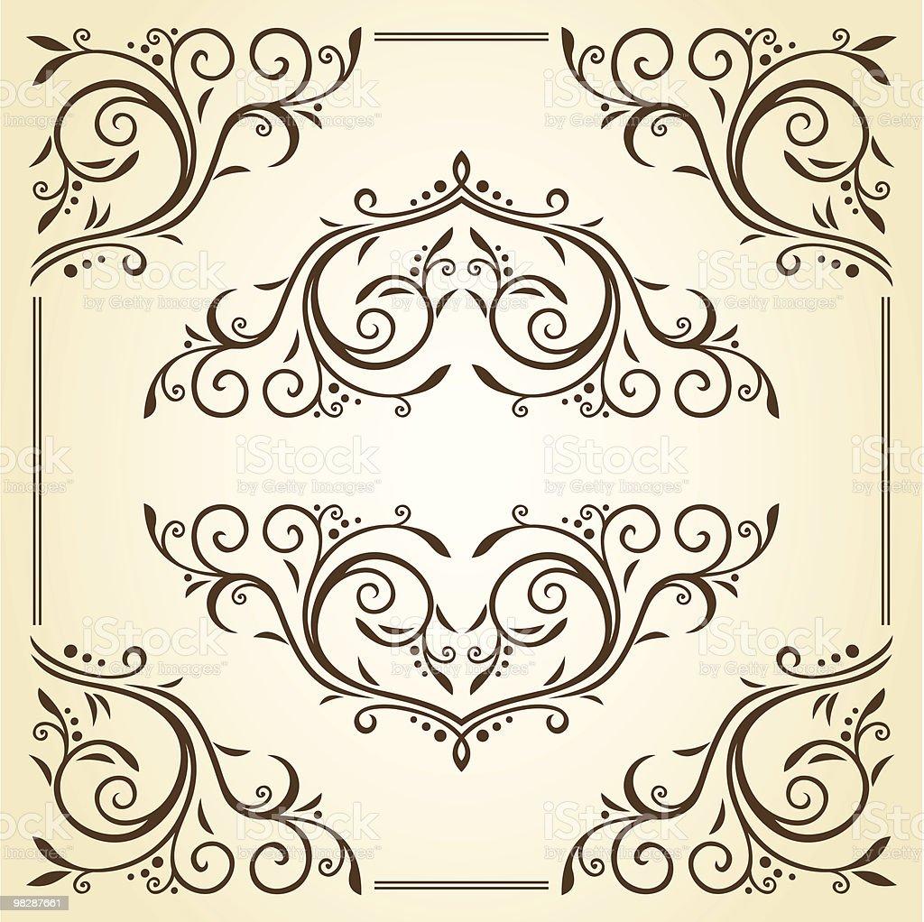 Sfondo sfondo - immagini vettoriali stock e altre immagini di arabesco - motivo ornamentale royalty-free