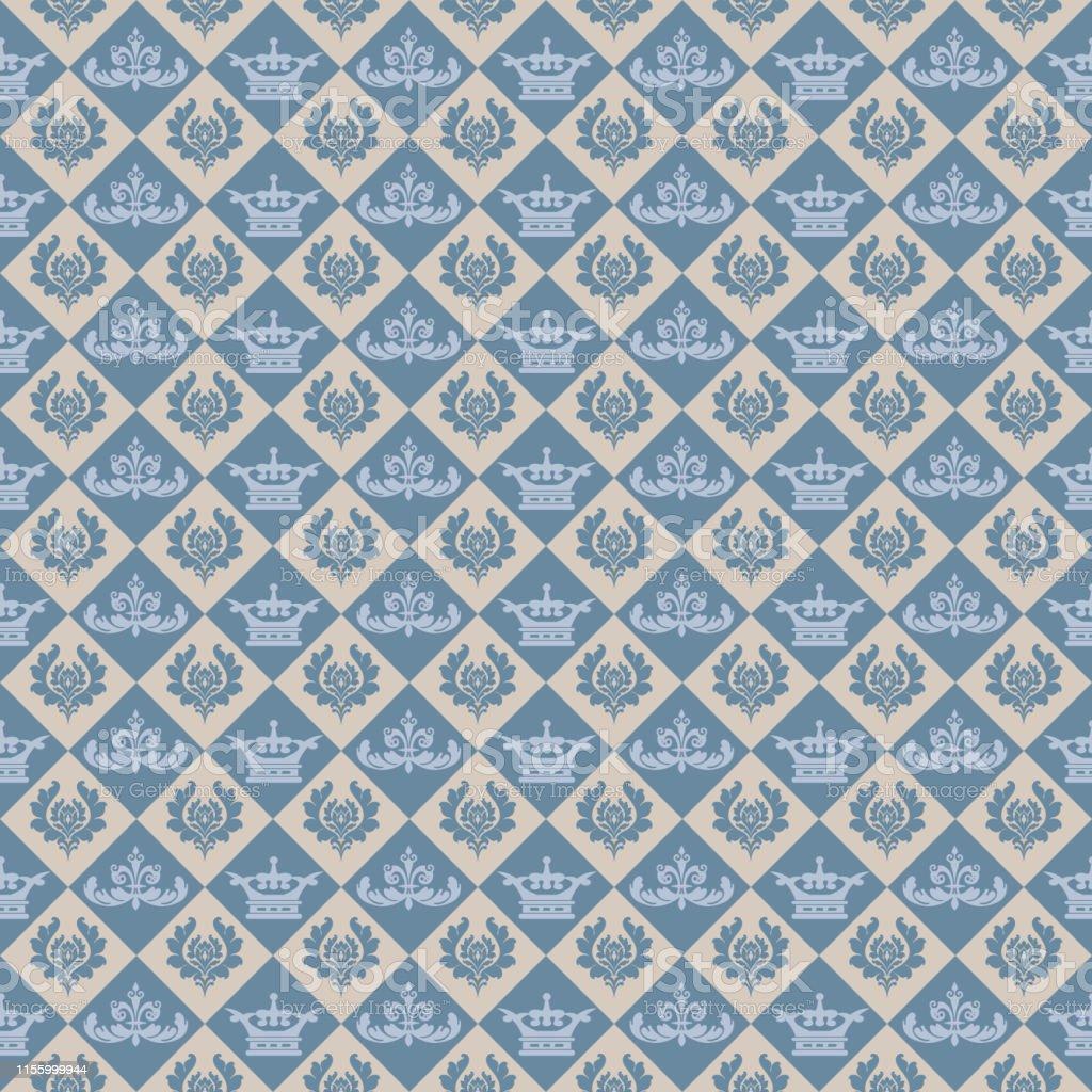 レトロなスタイルで背景壁紙シームレスなパターン