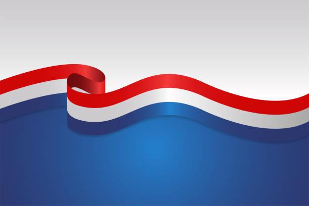 ilustraciones, imágenes clip art, dibujos animados e iconos de stock de bandera ondulado fondo con estilo de cinta - election