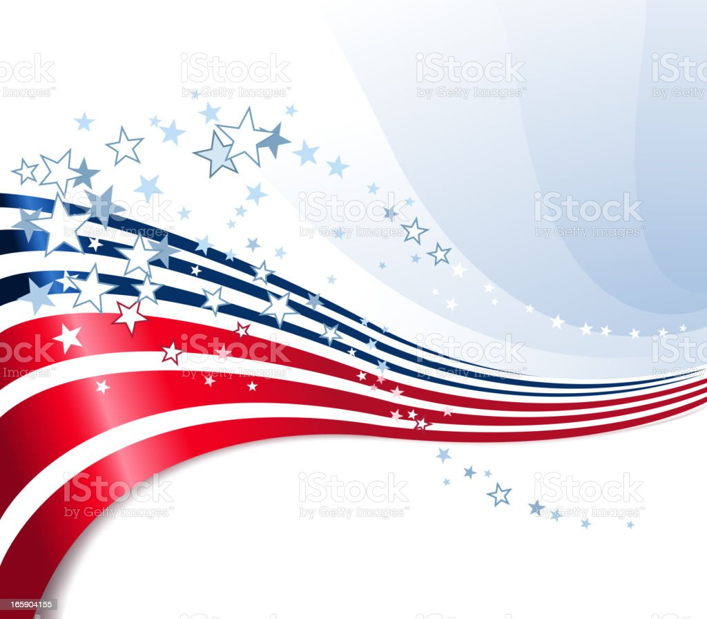 Background with a Fourth of July theme royalty-free background with a fourth of july theme stock vector art & more images of abstract