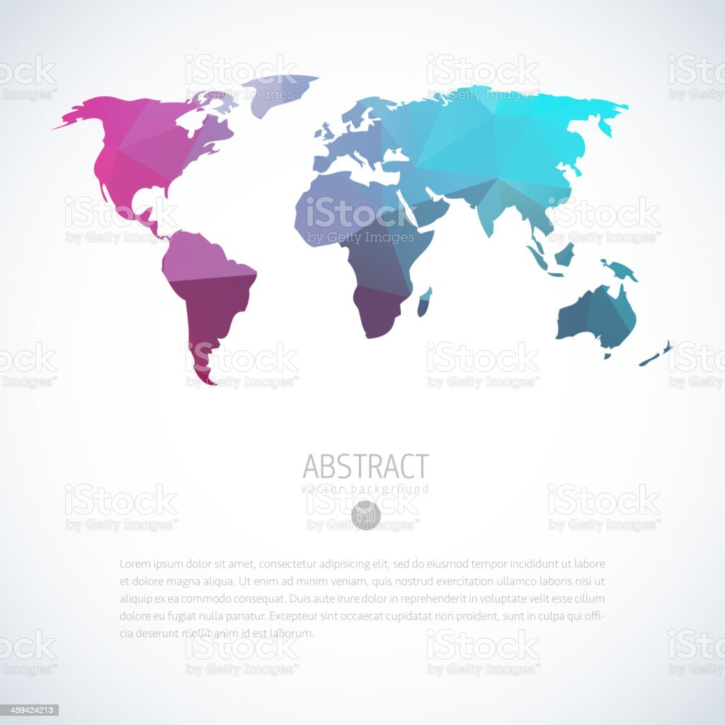 Background with blue triangle world map stock vector art more background with blue triangle world map royalty free background with blue triangle world map stock gumiabroncs Image collections