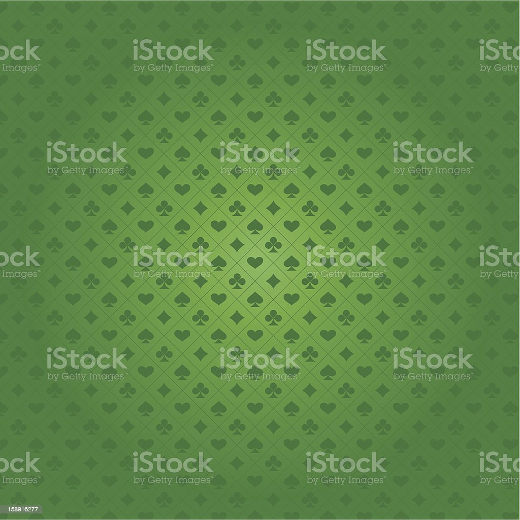 Background with card suits vector art illustration