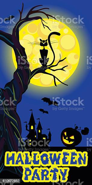 Background with castle bat moon pumpkin cat text halloween vector vector id610672652?b=1&k=6&m=610672652&s=612x612&h=novzquxlguyxwybc3aeopjtlpgssvfoztn1qeni1wra=