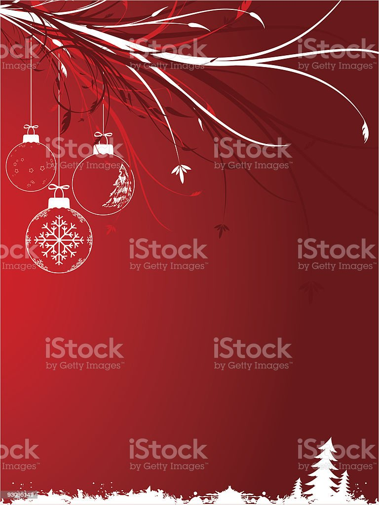 Background with Christmas toys royalty-free background with christmas toys stock vector art & more images of abstract