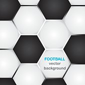 background with classic football texture