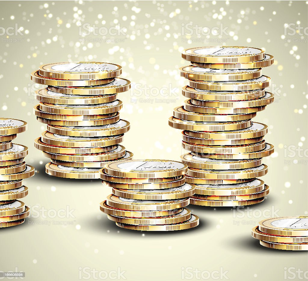 Background with coins royalty-free background with coins stock vector art & more images of abundance