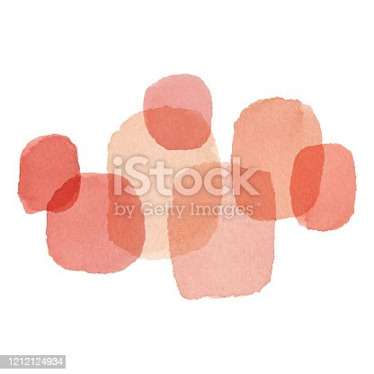 istock Background With Coral Color Paint texture 1212124934
