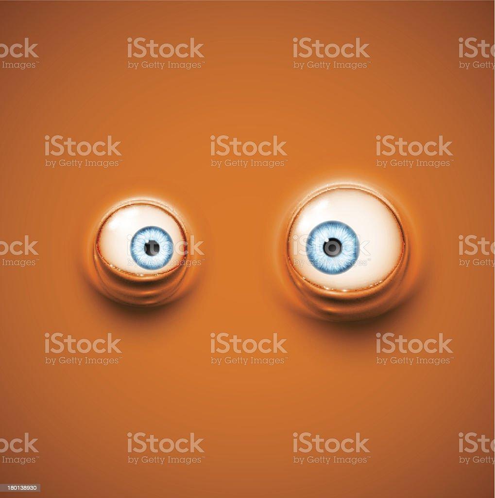 Hintergrund mit Augen – Vektorgrafik