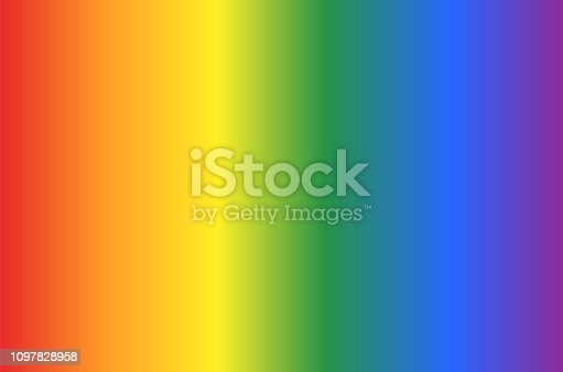 istock Background with gay flag colors pattern in vertical view. Abstract vector or illustration with rainbow colors. 1097828958