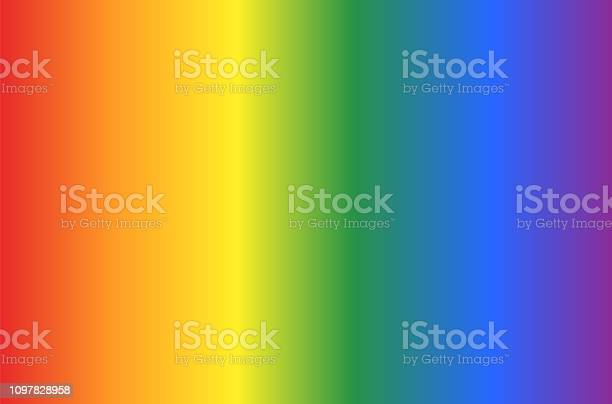 Background With Gay Flag Colors Pattern In Vertical View Abstract Vector Or Illustration With Rainbow Colors - Arte vetorial de stock e mais imagens de Abstrato