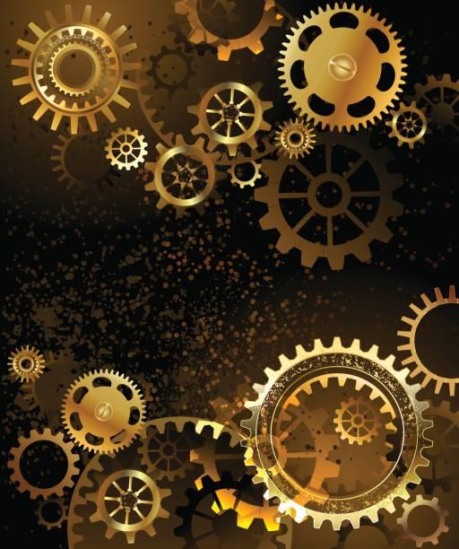 bildbanksillustrationer, clip art samt tecknat material och ikoner med bakgrund med redskap - wheel black background