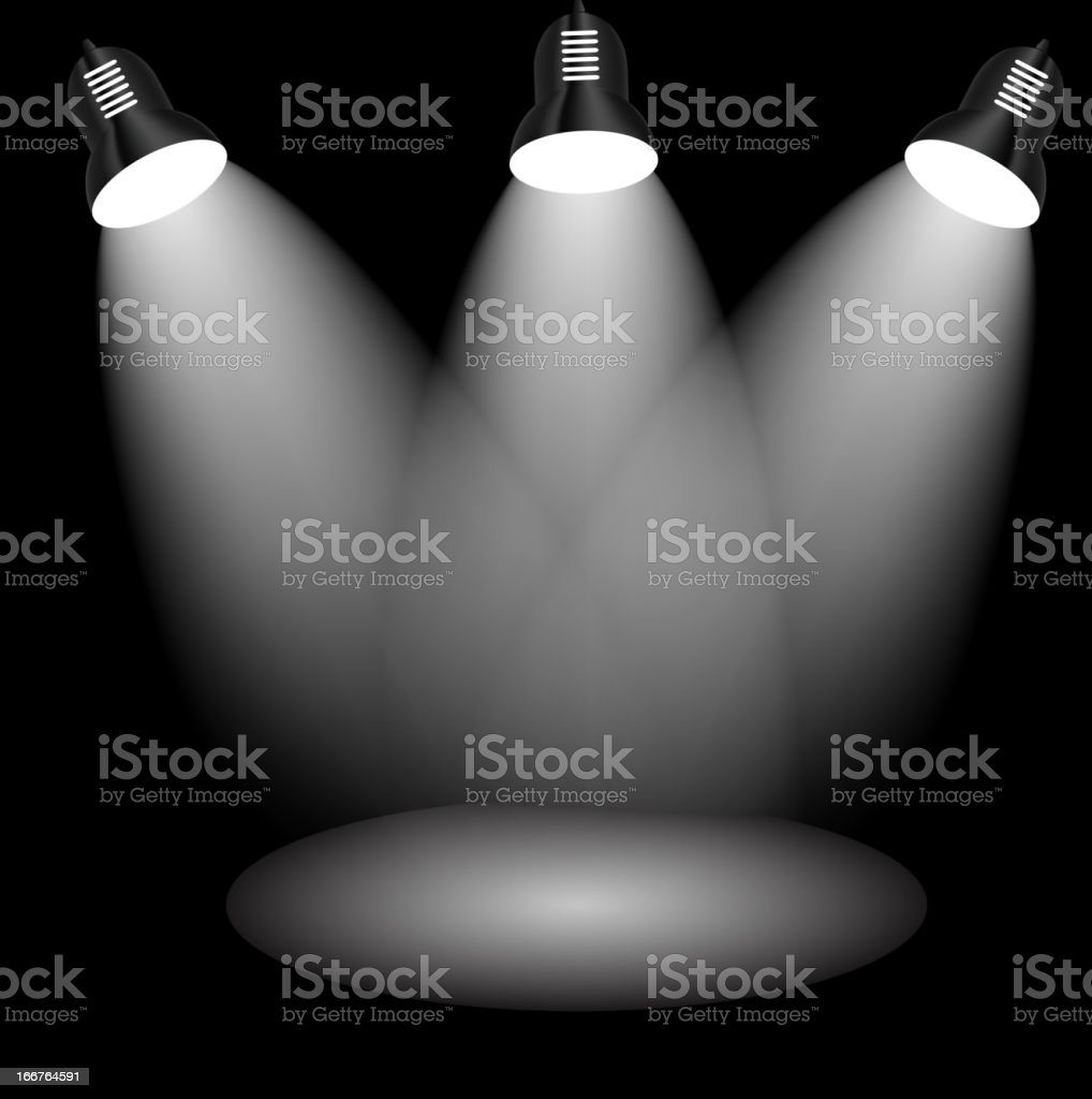 Background with lighting lamp. royalty-free background with lighting lamp stock vector art & more images of abstract